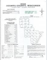 Index Map, Oconto County 1978